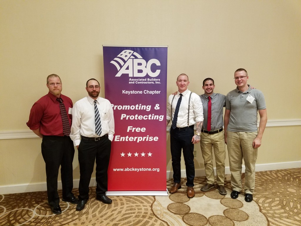 L to R: Ben Witmer, Jason Smith, Ian Sayers, Ian Dilley, Aaron Owens
